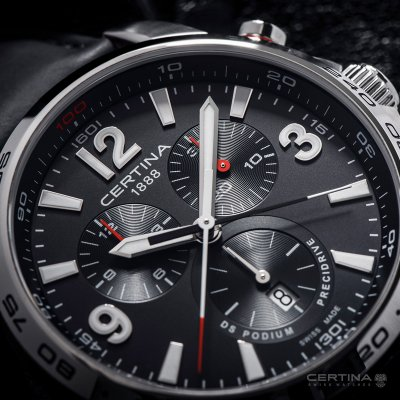 DS Podium Chronograph 1/100 sec
